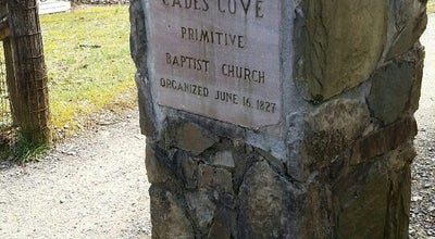 Photo of Church Cades Cove Primitive Baptist Church at Townsend, TN 37882, United States