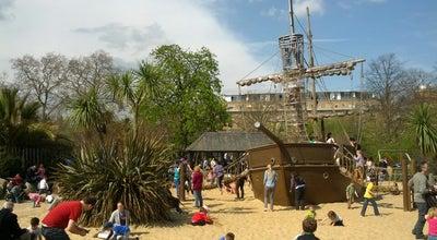 Photo of Playground Diana Memorial Playground at Gate Broad Walk, London W2 2UH, United Kingdom