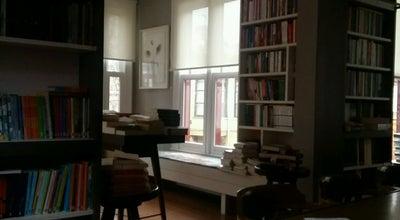 Photo of Bookstore Nail Kitabevi & Kafe at İcadiye Cad. Kuzguncuk, Üsküdar, Turkey