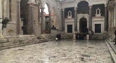 Photo of Castle Palace of Diocletian at Croatia