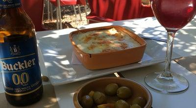 Photo of Pizza Place Restaurante La Almazara at Avenida Gonzalez Y Robles 53, Orgiva 18400, Spain