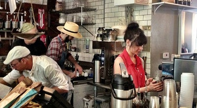 Photo of Cafe sam a.m. at 112 Morris St, Jersey City, NJ 07302, United States