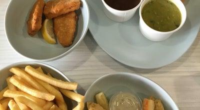 Photo of Vegetarian / Vegan Restaurant Bliss & Chips at 215 King St., Newtown, NS 2042, Australia