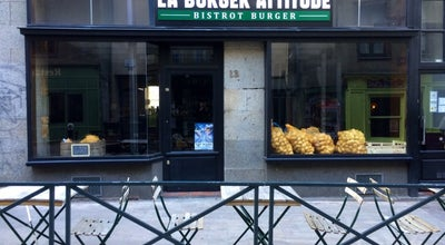 Photo of Burger Joint La Burger Attitude at 13 Rue De Saint-malo, Rennes 35000, France