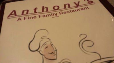 Photo of Diner Anthony's Family Restaurant at 34931 Vine St, Willowick, OH 44095, United States