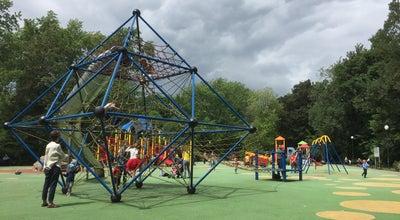 Photo of Playground Plac zabaw w Parku Żeromskiego at Mickiewicza, Warszawa, Poland