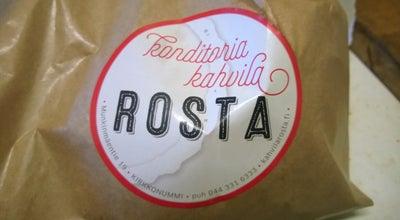 Photo of Cafe Kahvila konditoria Rosta at Munkinmäentie 19, Kirkkonummi 02400, Finland