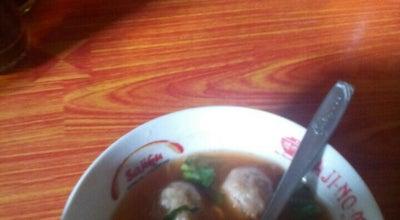 """Photo of Chinese Restaurant Bakso Goyang Lidah """" Pak Giyo """" at Iroyudan, Guwosari, Pajangan, Bantul, Indonesia"""