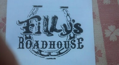Photo of American Restaurant Filly's Roadhouse at 1615 N Apache Trl, Apache Junction, AZ 85119, United States