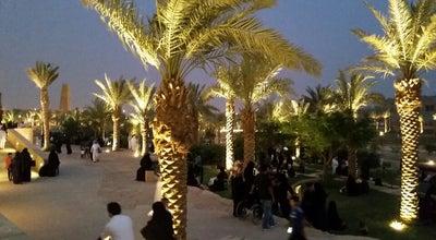 Photo of Park AlBujairi Square | ساحة البجيري at Diriyah | الدرعية, Riyadh, Saudi Arabia