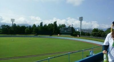 Photo of Baseball Field 長野県営野球場 at 東和田587, Nagano-shi, Japan