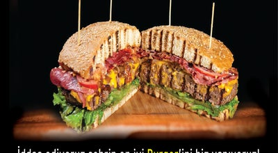Photo of Burger Joint Burger House Handmade Burger at Tekelioğlu Cad. Paksu, Antalya, Turkey