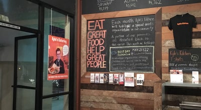 Photo of Burger Joint Kyle's Kitchen at 5723 Calle Real, Goleta, Ca 93117, United States