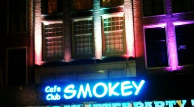 Photo of Bar Club Smokey at Rembrandtplein 20hs, Amsterdam 1017 CV, Netherlands