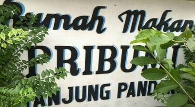 Photo of Asian Restaurant Rumah Makan Pribumi at Mt Haryono No. 21, Tanjung Pandan, Indonesia