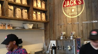 Photo of Cafe Jack's Stir Brew Coffee at 10 Downing St, New York, NY 10014, United States