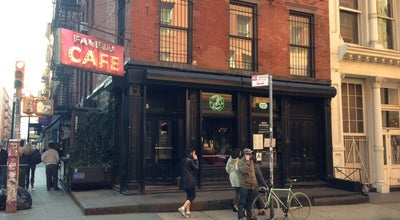 Photo of American Restaurant Fanelli's Cafe at 94 Prince St, New York, NY 10012, United States