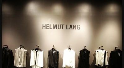 Photo of Boutique Helmut Lang at 93 Mercer St, New York, NY 10012, United States