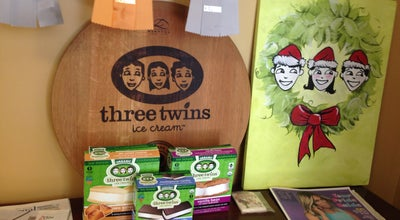 Photo of Ice Cream Shop Three Twins Organic Ice Cream at 419 1st St, Petaluma, CA 94952, United States