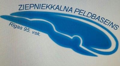 Photo of Pool Ziepniekkalna peldbaseins at Vienības G. 178/3, Rīga LV-1058, Latvia