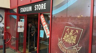 Photo of Miscellaneous Shop West Ham United FC Stadium Shop at Green Street, Upton Park E13 9AZ, United Kingdom
