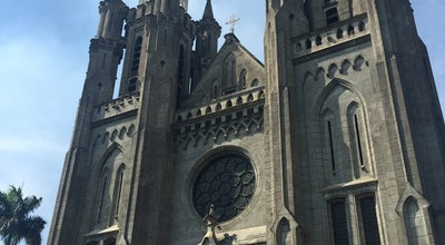 Photo of Church Cathedral Jakarta at Indonesia