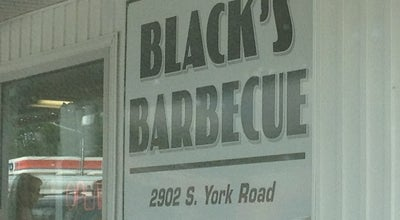 Photo of BBQ Joint Blacks Barbecue at 2902 York Hwy, Gastonia, NC 28052, United States