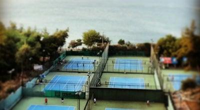 Photo of Tennis Court Adana Tenis Dağ ve Su Sporları Kulübü at Güzelyalı Mh. Adnan Menderes Blv. 81037. Sk Seyhan Baraj Gölü Yanı, Adana 01170, Turkey