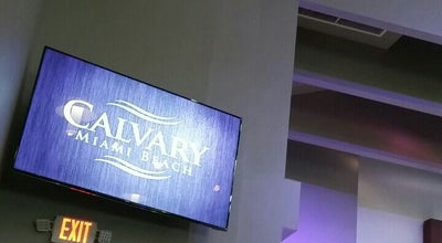 Photo of Church Calvary Chapel Miami Beach at 7141 Indian Creek Dr, Miami Beach, FL 33141, United States