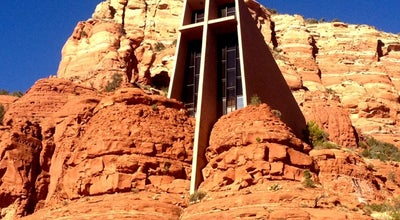 Photo of Church Chapel of the Holy Cross at 780 Chapel Rd, Sedona, AZ 86336, United States