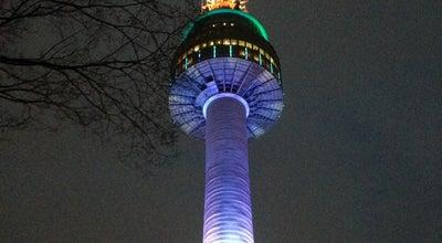 Photo of Monument / Landmark N서울타워 at 용산구 남산공원길 105, 서울특별시 04340, South Korea