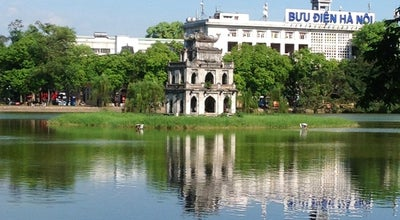Photo of Monument / Landmark Thap Rua Tower at Hoan Kiem Lake, Hanoi, Vietnam