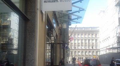 Photo of Museum Päivälehden museo at Ludviginkatu 2-4, Helsinki 00130, Finland