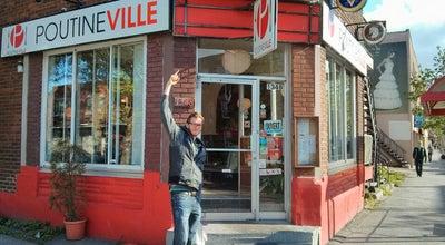 Photo of Food Poutineville at 1348, Rue Beaubien Est, Montréal, QC H2G 1K8, Canada