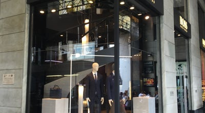 Photo of Boutique HUGO BOSS Men Store at Corso Matteotti, 11, Milan 20121, Italy