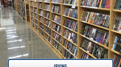 Photo of Bookstore Half Price Books at 7631 N. Macarthur Blvd., Irving, TX 75063, United States