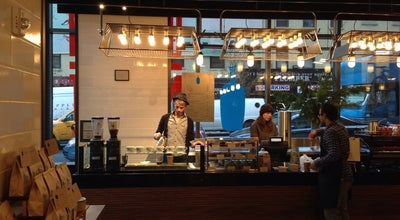 Photo of Coffee Shop Blue Bottle Coffee at 600 11th Ave, New York, NY 10036, United States