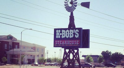 Photo of American Restaurant K-Bob's Steakhouse at 2800 W Dickinson Blvd, Fort Stockton, TX 79735, United States