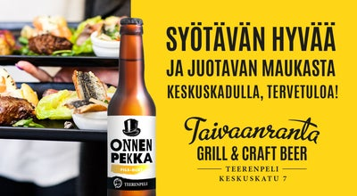 Photo of Steakhouse Taivaanranta Grill & Craft beer at Keskuskatu 7, Helsinki 00100, Finland