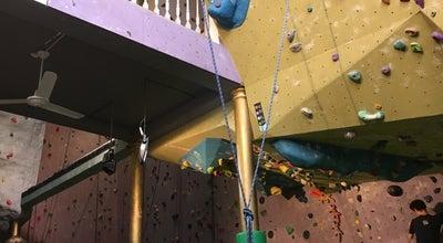 Photo of Climbing Gym Salle Terres Neuves at Nieuwland 28 Rue Terres Neuves, Brussels 1000, Belgium
