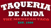 Photo of Mexican Restaurant Taqueria De Anda at 291 N Tustin St, Orange, CA 92867, United States