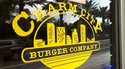 Photo of Burger Joint Charm City Burger Company at 1136 E Hillsboro Blvd, Deerfield Beach, FL 33441, United States