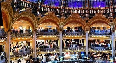 Photo of Department Store Galeries Lafayette Haussmann at 40 Boulevard Haussmann, Paris 75009, France