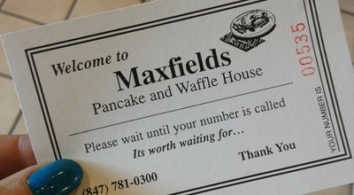 Photo of Breakfast Spot Maxfield's Pancake House at 700 E Schaumburg Rd, Schaumburg, IL 60194, United States