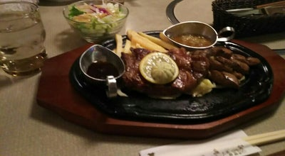 Photo of Steakhouse 肉の万世 越谷店 at 谷中町2-284-1, 越谷市 343-0856, Japan