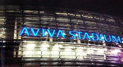 Photo of Stadium Aviva Stadium at 65-79 Lansdowne Rd, Dublin 4, Ireland
