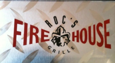 Photo of American Restaurant ROC's Firehouse Grille at 36891 Cook St, Palm Desert, CA 92211, United States