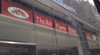Photo of Diner Red Flame Diner at 67 W 44th St, New York, NY 10036, United States