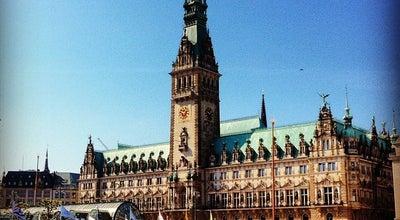 Photo of City Hall Hamburger Rathaus at Rathausmarkt 1, Hamburg 20095, Germany
