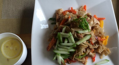 Photo of Vegetarian / Vegan Restaurant 'Loving Hut' Be Veg, Go Green at Худалдаа Хегжлийн Банкны Урд Талд, Mongolia